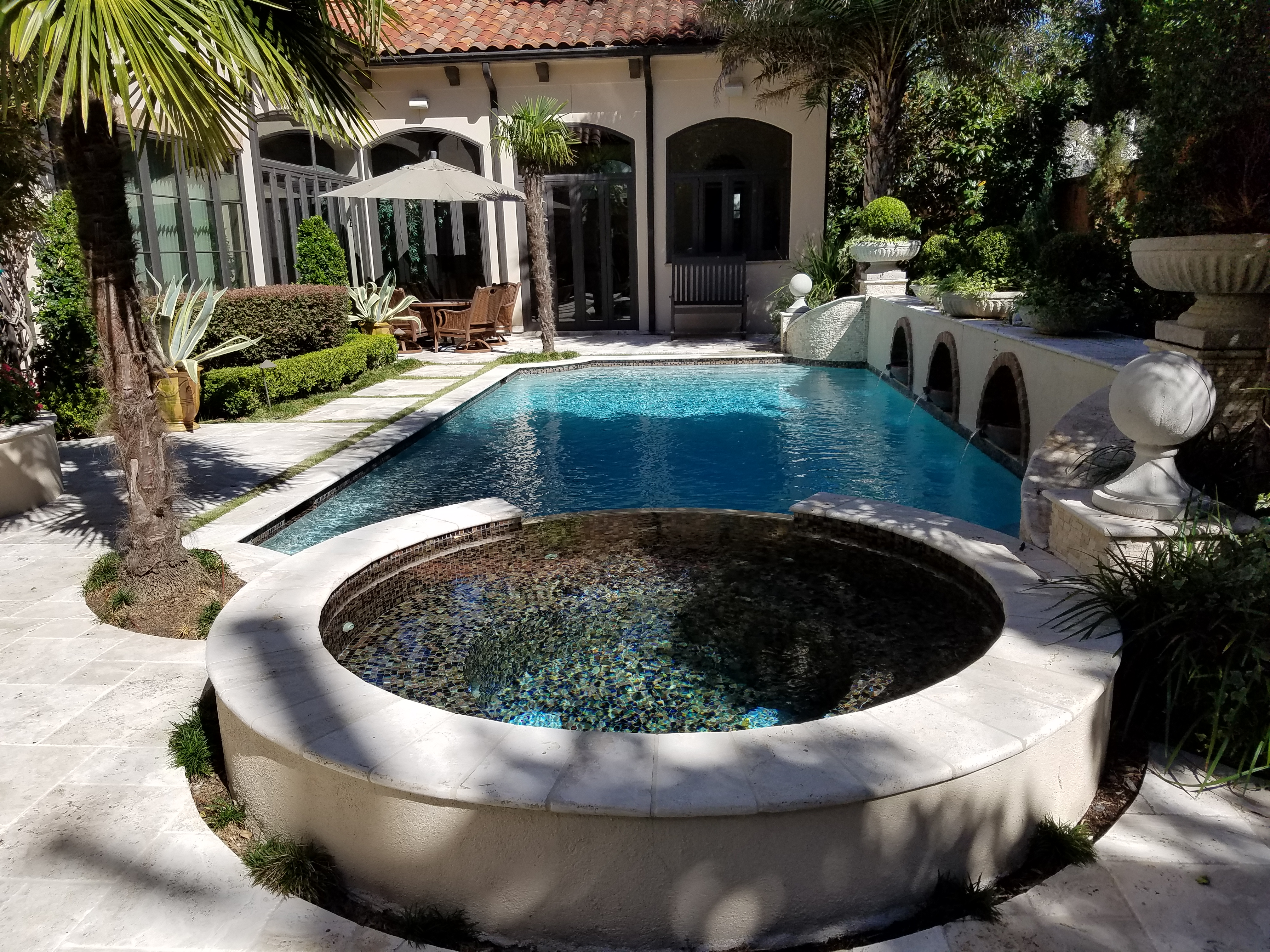Custom Pools Houston, Sugar Land Pool Builder : Sweetwater ...
