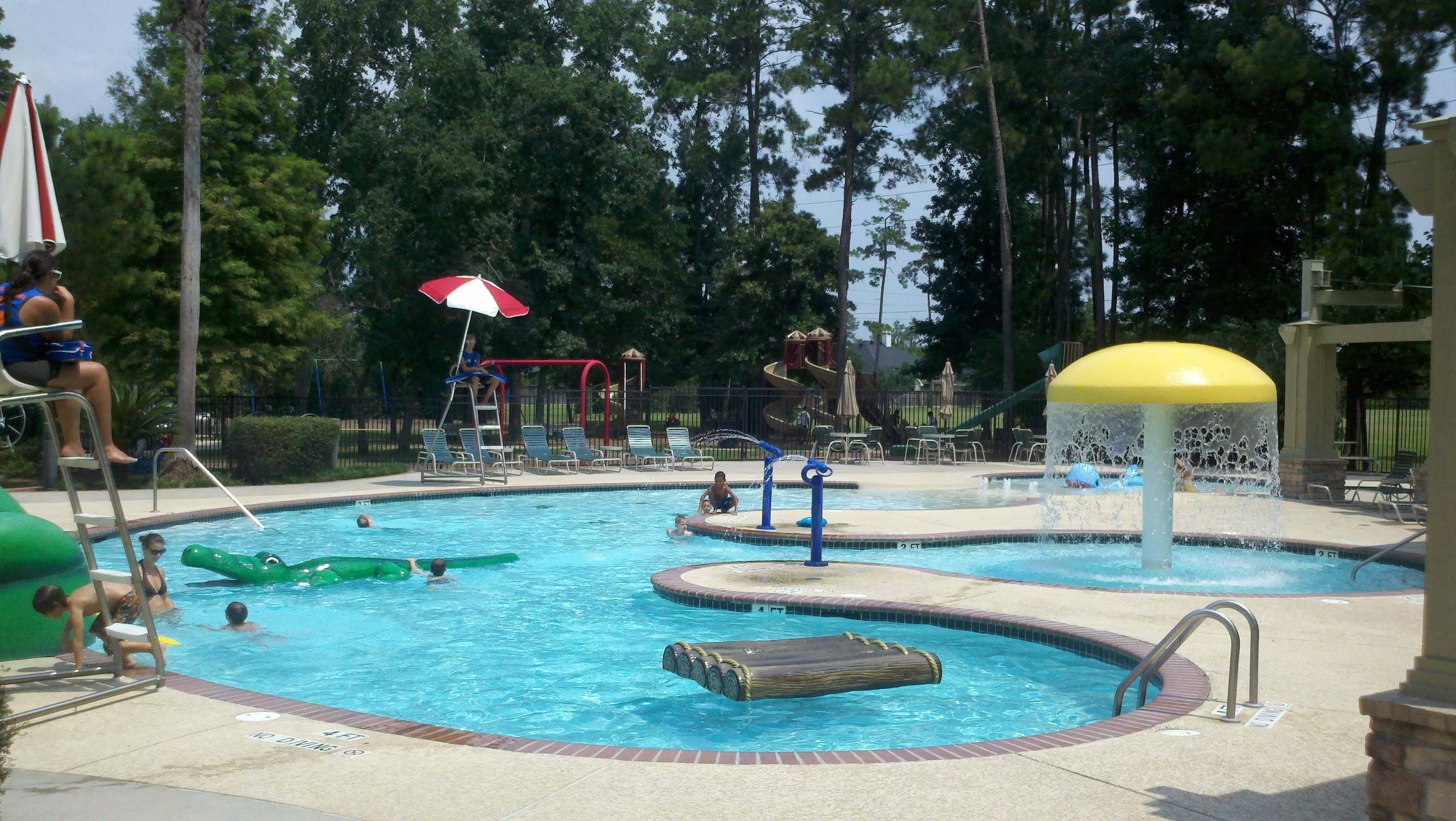 Houston community pool management katy pool services for Pool service